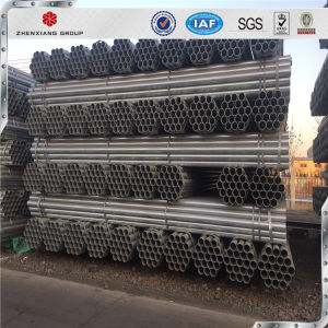 China Wholesale High Quality Q235 ERW Welded Round Steel Pipe Sizes pictures & photos