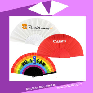 PVC Hand Fan with Logo for Promotion Hf-1001 pictures & photos