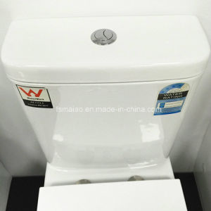 Watermark Bathroom Sanitary Ware P-Trap 150mm Washdown Two Piece Toilet (6009) pictures & photos