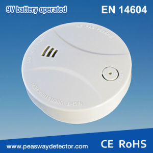 Photoelectric Smoke Detector 9V Battery (PW-507S) pictures & photos
