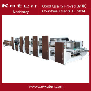 Automatic Corrugated Paper Folder and Gluer Gk-G pictures & photos