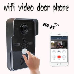 Wireless WiFi Video Door Phone Intercom Front Doorbell Camera pictures & photos