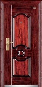 Heat Transfer Steel Security Door pictures & photos