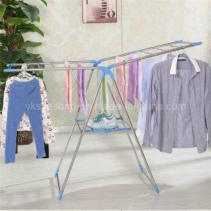 Colorful Folding Airfoil Shape Clothes Rack
