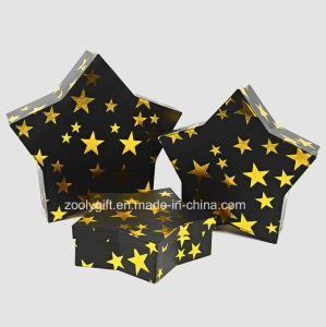 Wholesale Rigid Paper Board Star Shaped Display Gift Packing Boxes pictures & photos