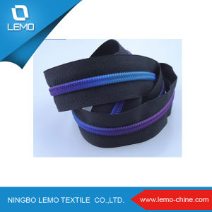 Printed Waterproof Invisible Nylon Zipper pictures & photos