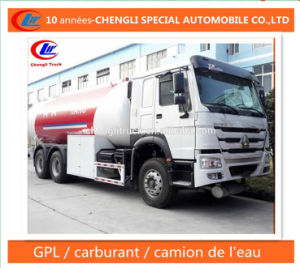25m3 25cbm LPG Bobtail Truck for Nigeria Market pictures & photos