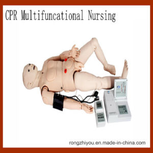 High Quality Multifunction CPR Medical Training Nursing Manikin-Vital Signs Simulation pictures & photos