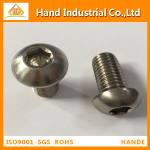 Stainless Steel Button Head Cap Screws pictures & photos
