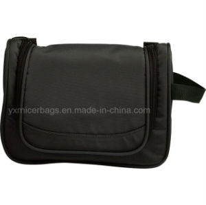 Hot Selling Simple Fashion Polyester Men′s Travel Toiletry Bag pictures & photos