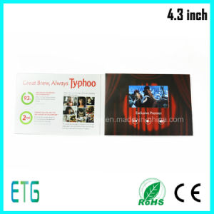 "4.3"" LCD Video Advertising Display for Hot Sale pictures & photos"