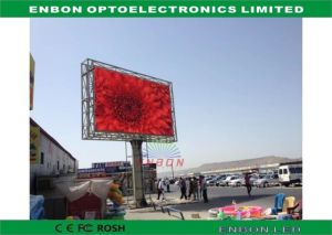 P10 Digital Outdoor LED Billboard Advertising on Pillar 4X3m pictures & photos