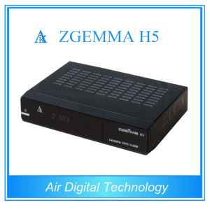 Zgemma Satellite TV Receiver Combo DVB S2 + DVB T2/C Support Hevc/H. 265 pictures & photos