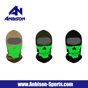 Balaclava Hood Full Face Skull Noctilucent Mask pictures & photos