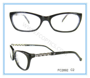 Black Acetate Optical Glasses Sincerely Supplier in China pictures & photos