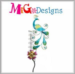 Garden Metal Dragonfly Rain Gauge Stake OEM pictures & photos
