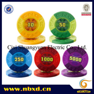11.5g 2color Sticker Poker Chip (SY-D31) pictures & photos