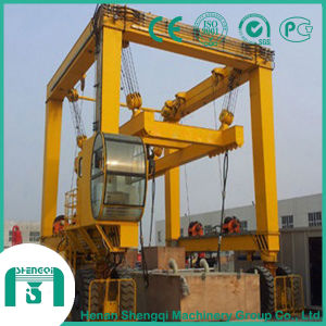 Container Gantry Crane-Rubber Tyre Gantry Crane for Container Lifting pictures & photos