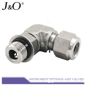 316 Forged Stainless Steel High Pressure Instrument Elbow Pipe Fitting pictures & photos