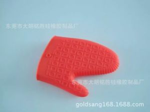 Hot Sell Food Grade Silicone Heat Resistant Oven Gloves pictures & photos
