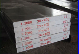 DIN1.2080 Tool Steel Round Bar, Flat pictures & photos