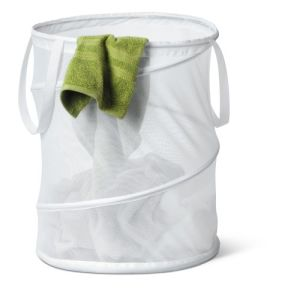 White Color Foldable Laundry Bag pictures & photos