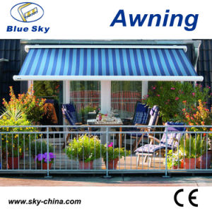 Remote Control Polyester Folding Retractable Awning (B4100) pictures & photos