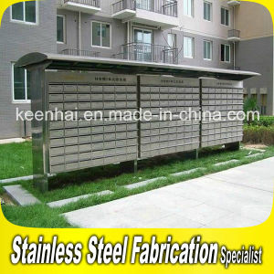China Outdoor Free Stand Stainless Steel Mailbox For