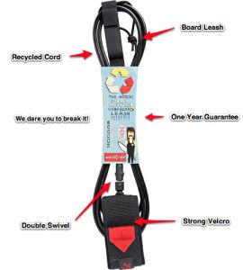 Recycled Material Custom Surfboard Leash, Surf Leash