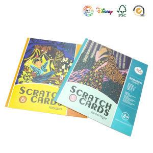 Custom Scratch Card Book