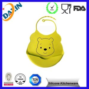 Alibaba Express Most Popular Promotional Baby Silicon Bib pictures & photos
