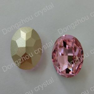 Machine Cut Point Back Loose Decorative Stones for Clothes pictures & photos