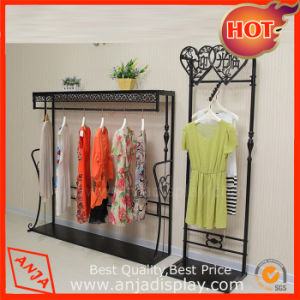 Metal Floor Garment Display Stand for Shop pictures & photos