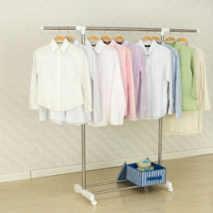 Ylt-0308 Stainless Steel Single Rod Telescopic Clothes Hanger pictures & photos