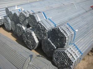 Quality Galvanized Round Steel Pipe (ZL-SP) pictures & photos