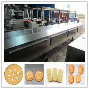 Hot Sale Gas Soft Biscuit Production Line pictures & photos