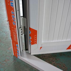Aluminum Casement Door with Triple Glass and Composite Aluminum Panel K06040 pictures & photos