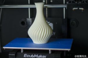 Ecubmaker Dual Head Large Scale 3D Printer with Hotbed and Supporting Multi Material pictures & photos