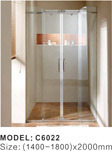 M Series Portable Frosted Glass Shower Enclosure Shower Room/Shower Cabin/Shower Enclosure