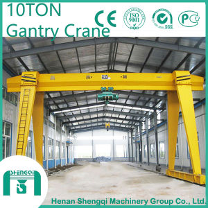 10 Ton Single Girder Electric Hoist Gantry Crane pictures & photos