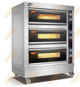 Large Glass Electric Bakery Oven (306DE) pictures & photos