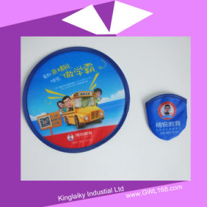 Nylon Foldable Frisbee Fan with Branding Flying Toy FT-001 pictures & photos