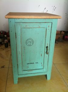 Bright Blue Cabinet with 1 Door (FCJ04139)