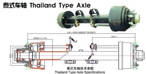 for Trailer Use Sws Thailand Type Axle