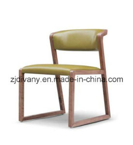 American Style Wooden Chair Dining Room Leather Chair (C-56) pictures & photos