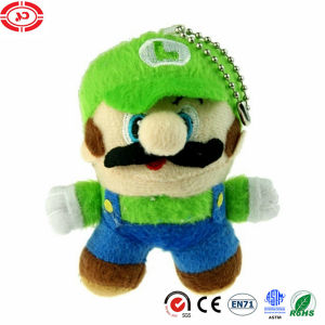 Super Mario Plush Keychain Game Character Luigi Toy Stuffed Doll pictures & photos