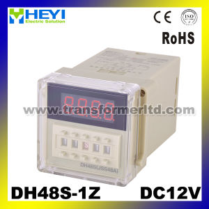 Dh48s-1z AC220V/240V Mini Digital Time Delay Relay pictures & photos