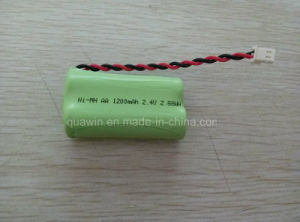 2.4V 1200mAh AA NiMH Rechargeable Battery Pack pictures & photos