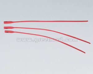 Hospital Medical Urethral Catheter (Red Latex) pictures & photos