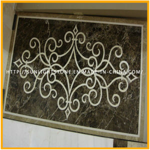Polished Water Jet Marble Stone Medallion for Hotel, Medallion Pattern pictures & photos